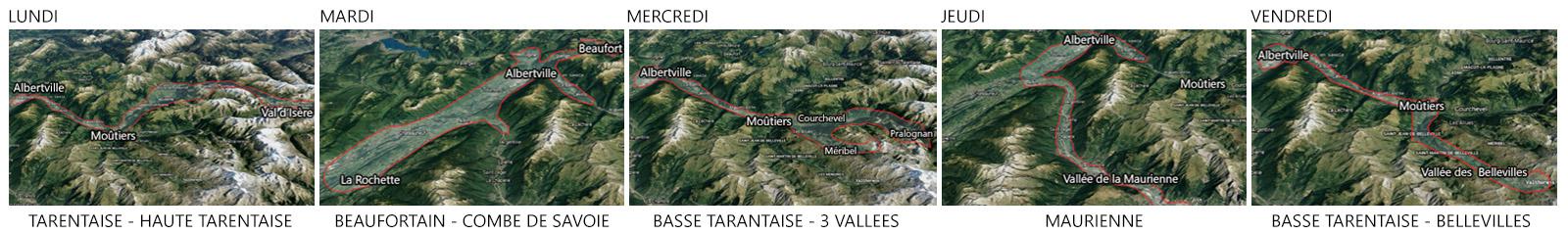 Livraisons en savoie, maurienne, tarentaise, beaufortain, 3 vallées.